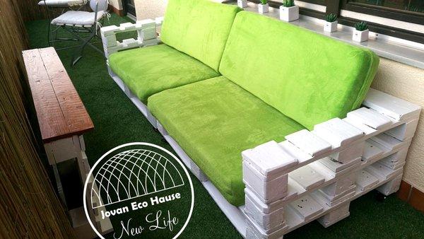 Palettenm bel sofa big praud f r vier personen jovan eco haus - Palettenmobel sofa ...